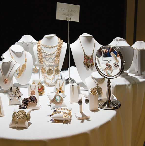 A Selection Of Fashion Jewelry Offered By Jtv At The Gem During Special Event